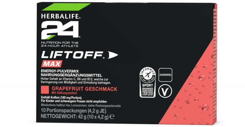 Herbalife 24 - LiftOff® Max Energy Drink Grapefruit - click on the picture for more information